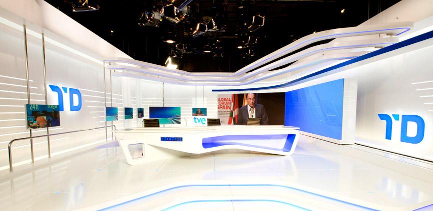Iluminación Led - Telediario Informativos TVE - LuzyLed